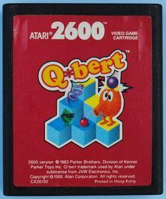 El videojuego q-bert.