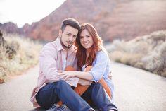 Red Rock Engagement Photos at Snow Canyon Utah