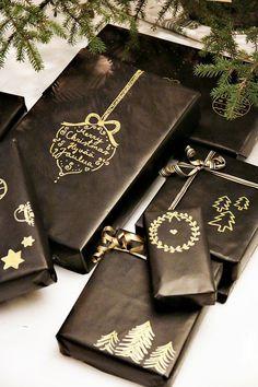 Täyttä elämää: Joulukuvia Merry, Gift Wrapping, Gifts, Packaging, Bags, Beautiful, Gift Wrapping Paper, Handbags, Presents