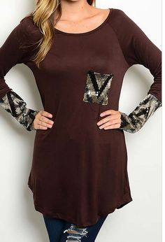 Sequin Cowgirl Top