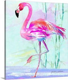 How To Draw Flamingo, Flamingo Craft, Flamingo Painting, Watercolor Flowers, Watercolor Art, Flamingo Tattoo, Flamingo Drawings, Flamingo Pictures, Tropical Art