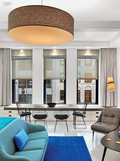 Shelter From the Gray: Alumni Club Is Now The William Hotel   Projects   Interior Design
