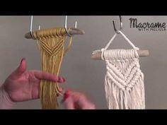 #2 Macrame Mini Christmas Ornament - YouTube