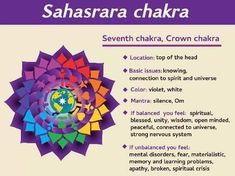 Chakra Locations, Mental Disorders, Materialistic, Crown Chakra, Nervous System, Unity, Spirituality, How Are You Feeling, Wisdom