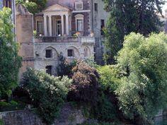 In giro col Giro. 18ma tappa del Giro d'Italia 2014. Bassano-Cima. Palazzo Sturm nella splendida cornice di Bassano del Grappa