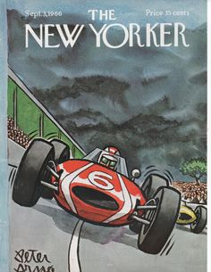 Vintage New Yorker Magazine Cover September by LititzCarriageHouse