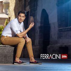 Para um domingo leve e de paz!      #ferracini24h #shoes #cool #trend #brasil #manshoes