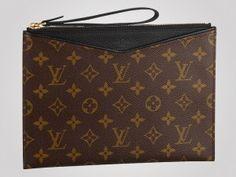 Louis Vuitton Pochette Pallas carries your iPad Mini in style