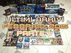 Collezione Videogames: Ultimi Arrivi di Febbraio 2015