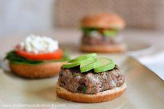 Protein Treats By Nicolette : Beef & Black Bean Burgers