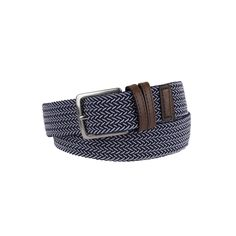 Men's Dockers Braided Stretch Belt, Size: Medium, White Oth