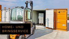 Nutze jetzt den kontaktlosen HOME- und BRINGSERVICE von MO.SPACE für daheim oder für die Firma!   Einfach online die benötigte Containergrößen auswählen und wir bringen dir den Lagercontainer direkt zum Wunschort. Anschließend kann der Container in Ruhe beladen werden. Danach wird der beladenen Container auf unser Selfstorage-Terminal mit taggenauer Abrechnung zurück gebracht, wo dieser zeitlich je nach deinem Bedarf gelagert wird.  Profitiere jetzt von diesem Angebot: +43 664 432 58 60 Bratislava, Terminal, Home, Moving Boxes, Simple, Haus, Homes, Houses, At Home