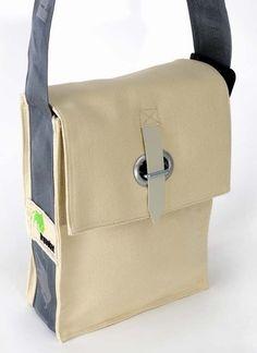 Messenger Tasche // canvas bag via DaWanda.com