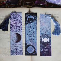Marcadores de Página - Morgana Azul - A Quimera