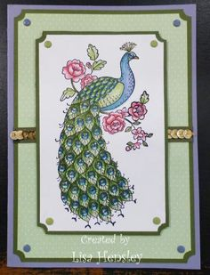 Perfect Peacock by ponygirl40 - Cards and Paper Crafts at Splitcoaststampers