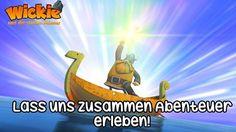 """""""Lass uns zusammen Abenteuer erleben!"""" Genauso wie Wickie und die starken Männer! Auf geht's! #WickieunddiestarkenMänner #Wickie #Sprüche #Abenteuer #Freunde #Kinderserien"""