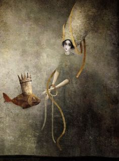 Gabriel Pacheco (Mexico, 1973-...) painter and illustrator, known for working in the Surreal Visionary style.