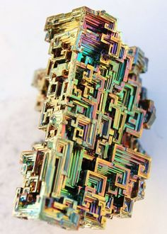 Bismuth Crystals, By: BeeblebroxZ | Fatma Loves to Draw!