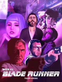 WEEK 1 Blade Runner by thonykrebs.deviantart.com on @DeviantArt
