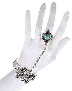 Burnished Silver Metal Cuff Hand Bracelet With Ring / Hand Chain / Slave Bracelet / Bracelet Ring Hand Bracelet With Ring, Slave Bracelet, Ring Bracelet, Hand Chain, Metal Bracelets, Silver Metal, Jewlery, Fashion Jewelry, Indian Fashion