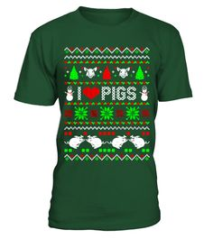 # I Love Pigs Ugly Christmas Sweater Xmas .  Make a perfect gift for -YOUR FAMILY MEMBERSOrYOUR BESTFRIENDSThese shirts are only available forLIMITED TIME!Guaranteed safe and secure checkout via:Paypal | VISA | MASTERCARD | AMEX | DISCOVERTIP:SHARE it with your friends, buy2shirts or more and you will save on shipping.Tags:#ugly, #UglyChristmasSweaters, #Christmasgifts, #UglyChristmasSweaters2016, #funnyUglyChristmasSweaters, #funnychristmassweaters, Ugly+Christmas+Sweaters…