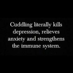 Cuddling Literally Kills