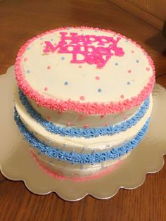 Happy Mothers Day Cake by Kris Rodriguez and TheSweetLadyBug