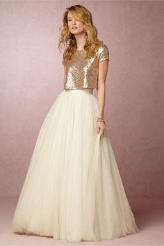 dress sequin dress two pieces prom dress two-piece evening dress party dress long dress yoyobridal