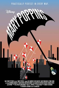 mary poppins poster - Google Search