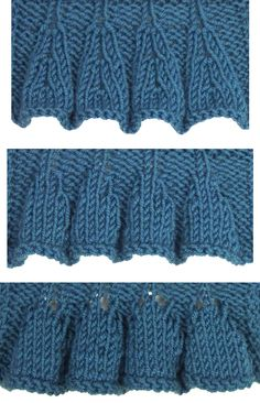Top Down Ruffles are found in the Edging Stitches category.