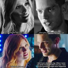 Demon jace and Clay but the real jace and clary Shadowhunters Series, Shadowhunters The Mortal Instruments, Movie Photo, Movie Tv, Shadowhunter Quotes, Clary E Jace, Photography Tips Iphone, Dominic Sherwood, Total Drama Island