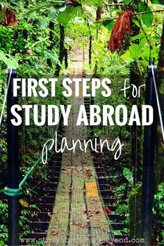 The earlier you plan for studying abroad, the better! Using the acronym GRAPES, you will be organized for making your dream of studying abroad a reality!