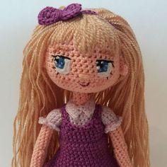 Amigurumi crochet doll by annatodrin.