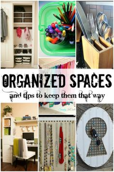 Get organized! Tips at Remodelaholic.com #organization