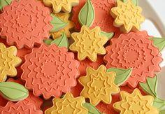 Cookies with leaves...Sweet Sugarbelle