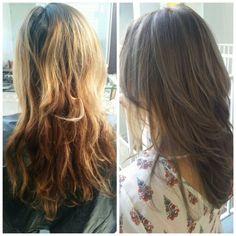 #hair #darkashblond
