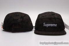 3cca50dcd76 5 Panel Supreme Caps Snapback Caps Hats Black Paisley