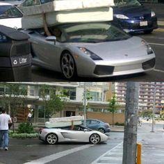 Lamborghini or wife?
