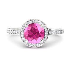 Ultra Rare Argyle Pink diamond!