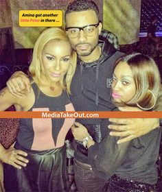 MTO EXCLUSIVE PICS: We Now Have OFFICIAL CONFIRMATION That Amina From Love And Hip Hop Is PREGNANT!! (Peep The Baby Bump PICS) - MediaTakeOut.com™ 2014