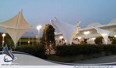 سایبان دکوراتیو ورودی راهرو باغ تالار عروسی و تشریفات مراسم