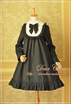 Dear Celine Striped Doll OP