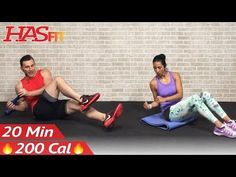 20 Minute Ab Workout for Women & Men - 20 Minute Abs Workout for People Who Get Bored Easily at Home - YouTube