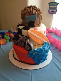 Teen Beach Movie Cake Party Ideas more at Recipins.com
