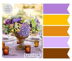 {The Perfect Palette}: Shades of Purples and Warm Browns... http://www.theperfectpalette.com/2012/11/the-perfect-palette-3-wedding-tabletops.html