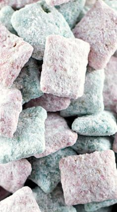 Cotton Candy Puppy Chow.