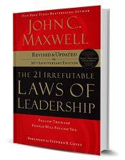 John C. Maxwell | The 21 Irrefutable Laws of Leadership | $24.99