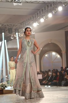Bridal Couture Week 2015 Teena by Hina Butt Latest Collection Images                                                                                                                                                                                 More