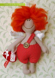 Выкройка куколки ангела / Мастер-класс