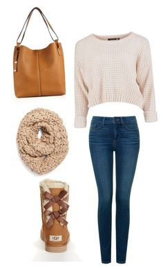 """""""Untitled #312"""" by selfmadee ❤ liked on Polyvore featuring Michael Kors, Collection XIIX, UGG Australia, NYDJ, women's clothing, women, female, woman, misses and juniors"""